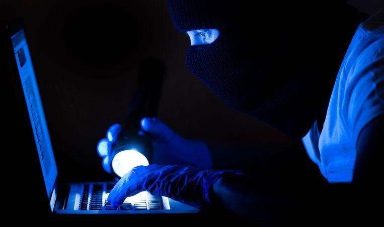 Internetcriminaliteit en dergelijke lijkt de klassieke misdaad vervangen te hebben. Cijfers hierover komen ook maar langzaam in de statistieken terecht. Beeld ANP XTRA