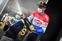 Mathieu van der Poel na het winnen van de Brabantse Pijl.