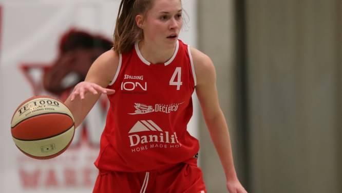 """Margot Vanhoutte speelt laatste wedstrijd voor Basket Waregem: """"Niet de progressie gemaakt die ik wou"""""""