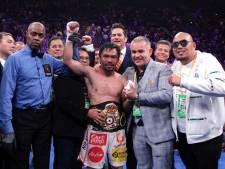 Bokslegende Pacquiao (42) na ruim twee jaar terug de ring in