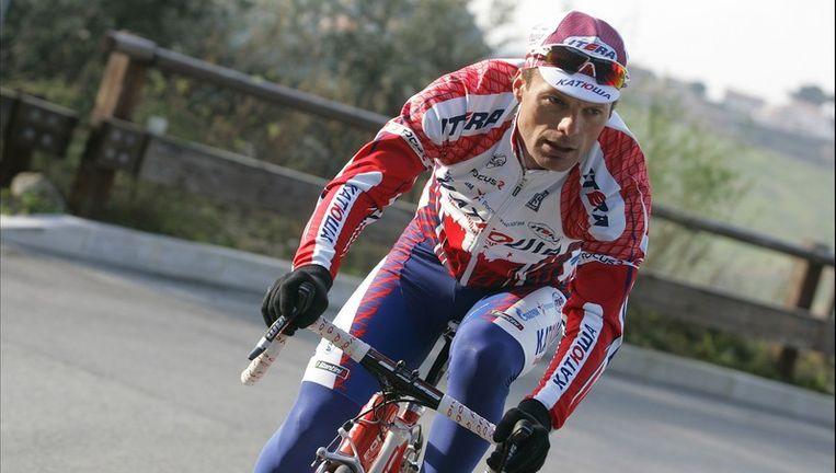 Danilo Di Luca rijdt voortaan voor Katusha. Beeld PHOTO_NEWS