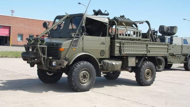 Special Forces defileren morgen uitzonderlijk mee in bijzondere vrachtwagen