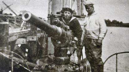 Duitse duikbootkanon naar het War Heritage Institute in Brussel