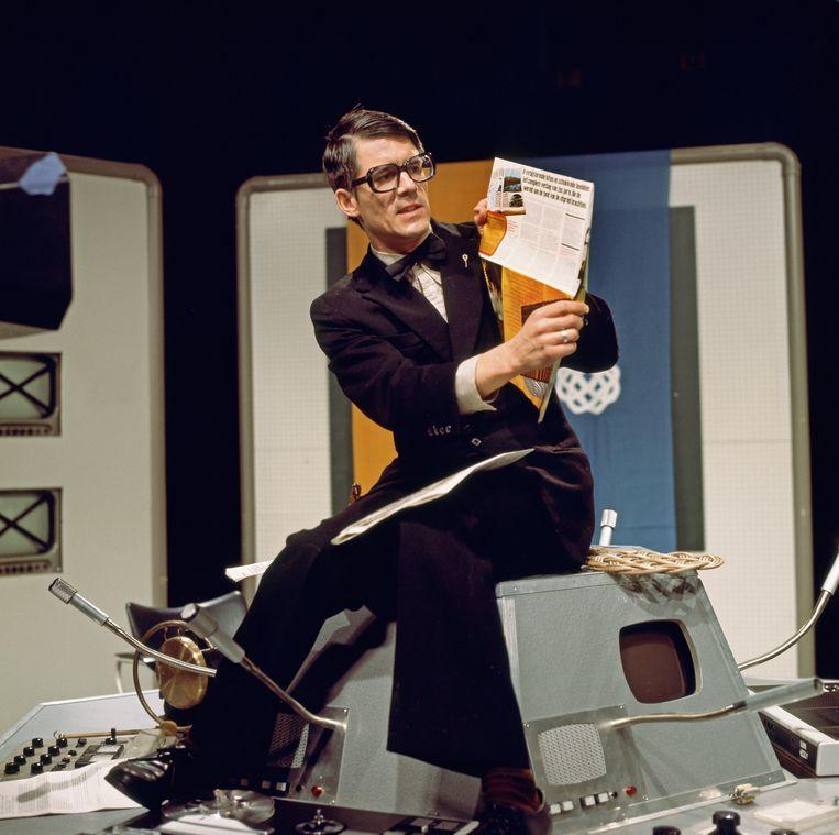 Kees van Kooten in 1976. Beeld HH /  ANP