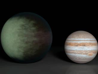 Dichte bewolking ontdekt in westen van planeet Kepler-7b