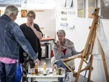 Op de fiets naar 37 Almelose kunstenaars: 'Zo'n werk willen mensen niet aan de muur hebben'