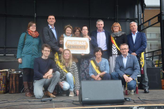Archiefbeeld - De stad Ninove ontving in 2018 voor het eerst het label van 'FairTradeGemeente'.