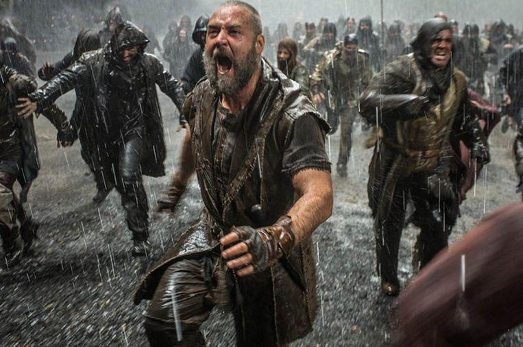 Russell Crowe in Noah van Darren Aronofsky Beeld