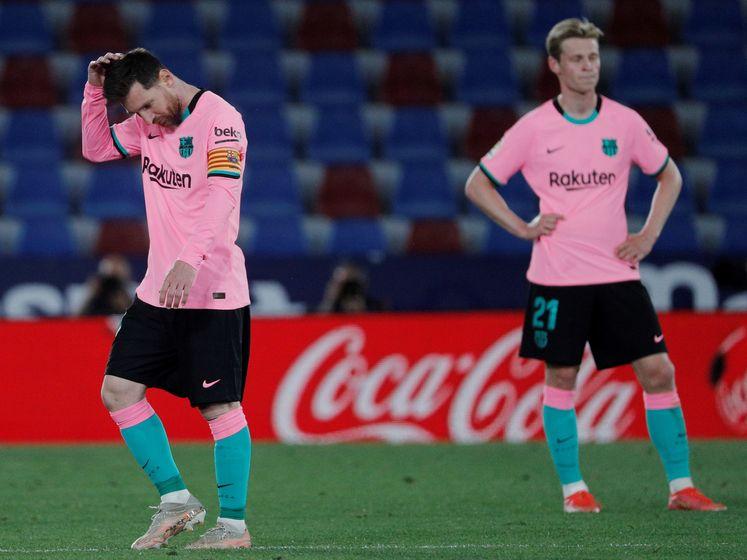 Barcelona lijkt titel te kunnen vergeten na pijnlijk gelijkspel