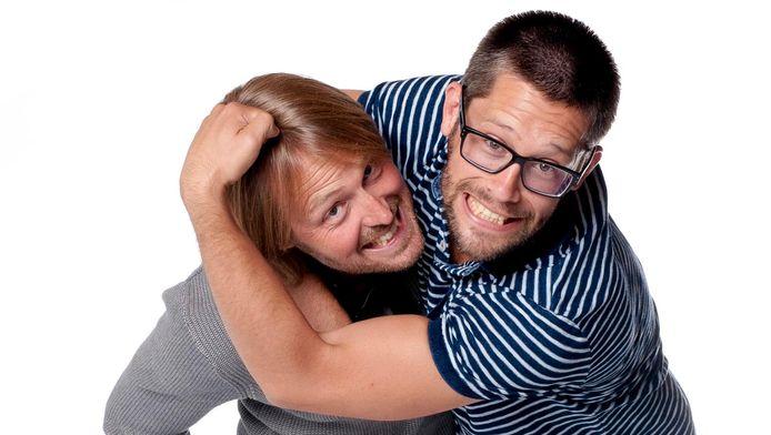 David de Kock en Arjan Vergeer.