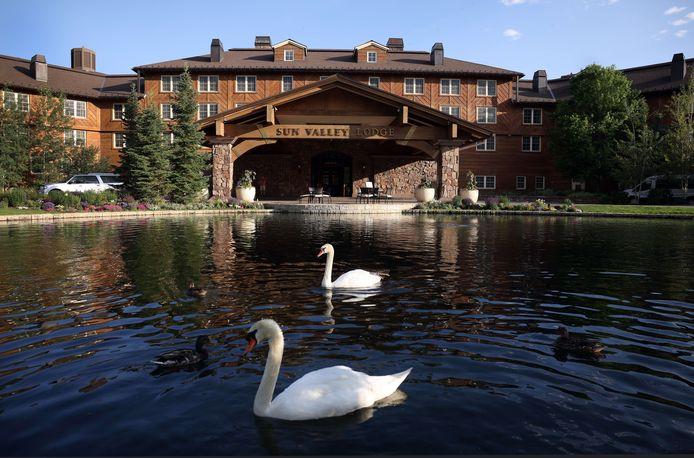 Le Sun Valley Resort, où se tiennent les conférences.