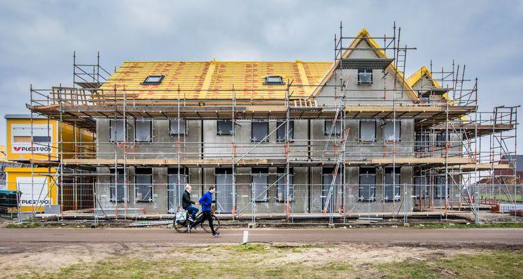 De bouwsector is het hardst getroffen door de huidige crisis, met een daling van 6,6 procent. Beeld Hollandse Hoogte / Rob Voss