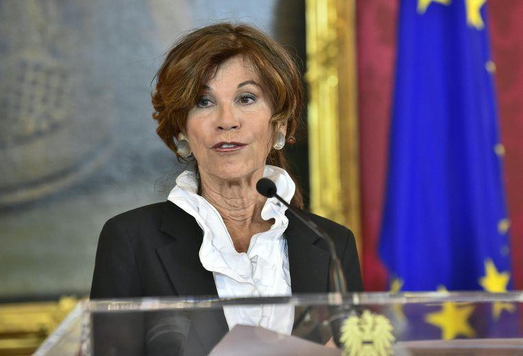 De nieuwe Oostenrijkse kanselier Brigitte Bierlein. Beeld ANP