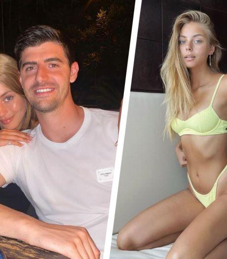 """""""L'amour de ma vie"""": Thibaut Courtois officialise sa relation avec un mannequin israélien"""