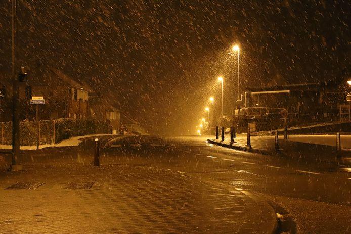 Sneeuw in Leuven