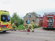 Bewoners vluchten tijdig voor keukenbrand in buitengebied Marknesse: huis nu onbewoonbaar