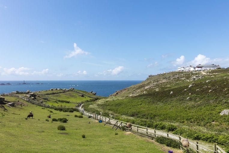 Het mythische landschap van Land's End. Beeld Matthew Jessop / Visit Cornwall