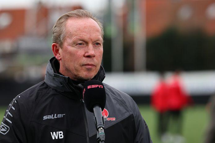 Helmond Sport-trainer Wil Boessen is al acht wedstrijden op rij ongeslagen met zijn ploeg.