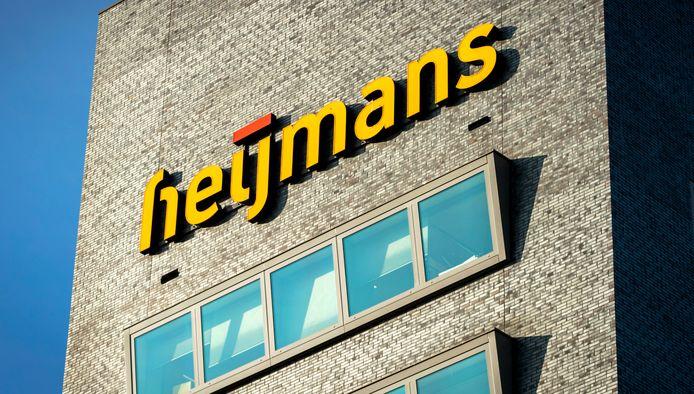 2016-11-25 10:56:00 ROSMALEN - Logo op het hoofdkantoor van Heijmans. ANP REMKO DE WAAL