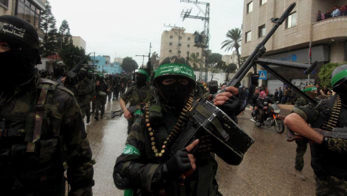 Défilé des Brigades al-Qassam, branche armée du Hamas (Gaza, 14 décembre 2014)