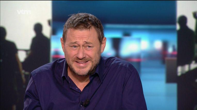 Bart De Pauw in het VTM Nieuws van 10/11