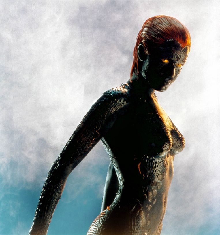 'X-Men'-personage Mystique. Beeld Collection Christophel