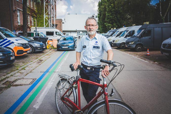 Johan Rommelaere van de verkeersdienst