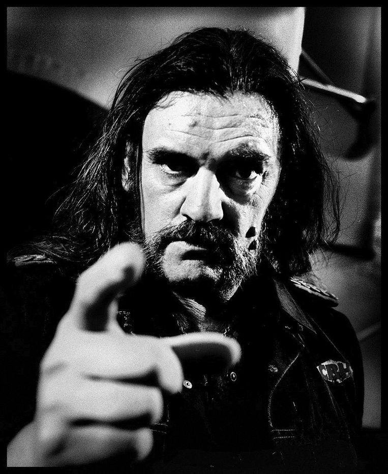 Lemmy Kilmister, frontman Motörhead.  Beeld André Bakker