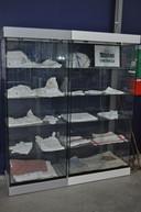 Het Weverijmuseum toont nu ook al een klein deel van de eigen damastcolletie