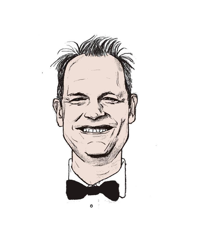 Oudejaarsconference 2020 - Vincent Bijlo - Illustratie: Gijs Kast Beeld Gijs Kast