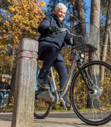 Ouderen leren val met fiets te voorkomen