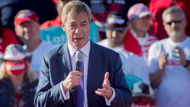 'Mr Brexit' Nigel Farage verlaat de politiek