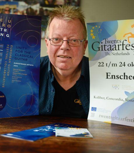 Gitaarfestival maakt een inhaalslag en zet Enschede op de kaart: 'We hebben een bomvol programma'