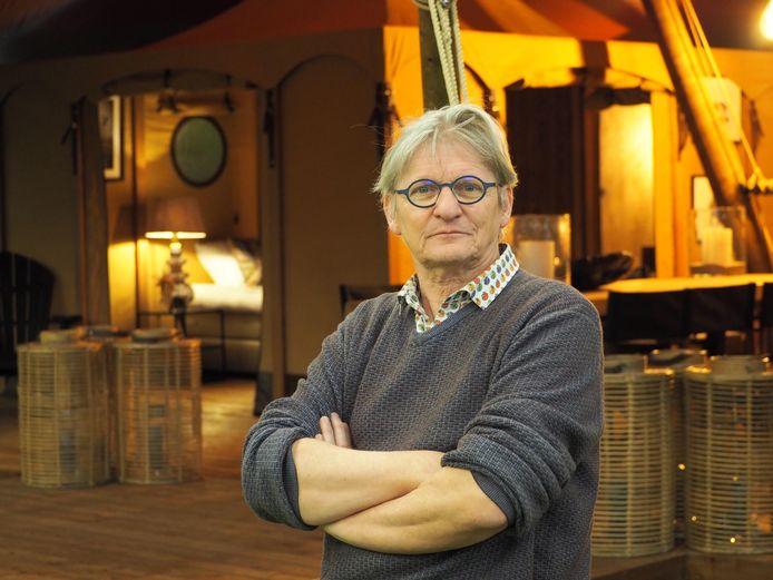 Wilfried Baeten neemt de creatieve kant van Ray Tensile Design voor zijn rekening.