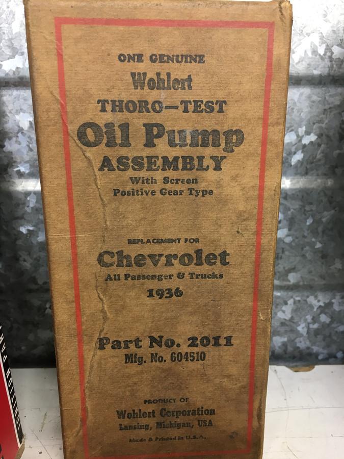 Oliepomp uit 1936.