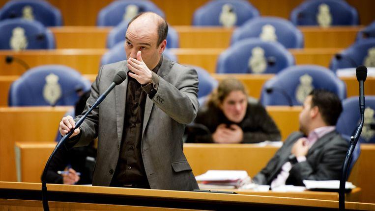 SP-Kamerlid Jasper van Dijk. Beeld anp