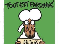 Charlie Hebdo: Mohammed op cover met #jesuischarlie
