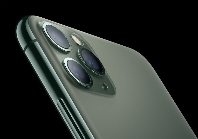 De iPhone 11 Pro.