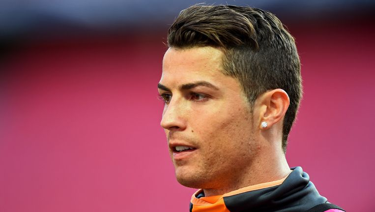 Cristiano Ronaldo bereidt zich in Lissabon voor op de Champions League-finale tegen Atlético.