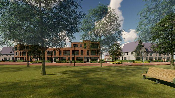 Negentien nieuwe appartementen (sociale huur) van Zayaz op het terrein Carolus/De Herven in Den Bosch. Op één appartement kwamen 1021 reacties van woningzoekenden.