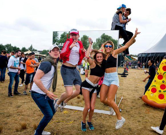Beleving stond centraal op het festivalterrein.