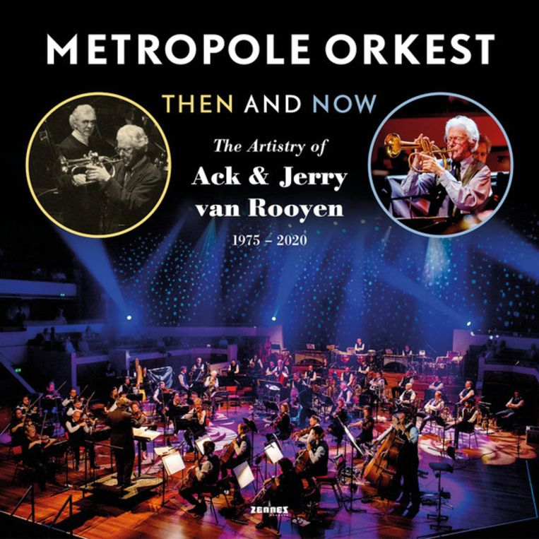Metropole Orkest Then and now cover kosteloos Beeld -