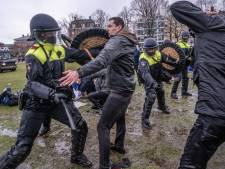 In beeld: chaos rond Museumplein na uit de hand gelopen demonstratie