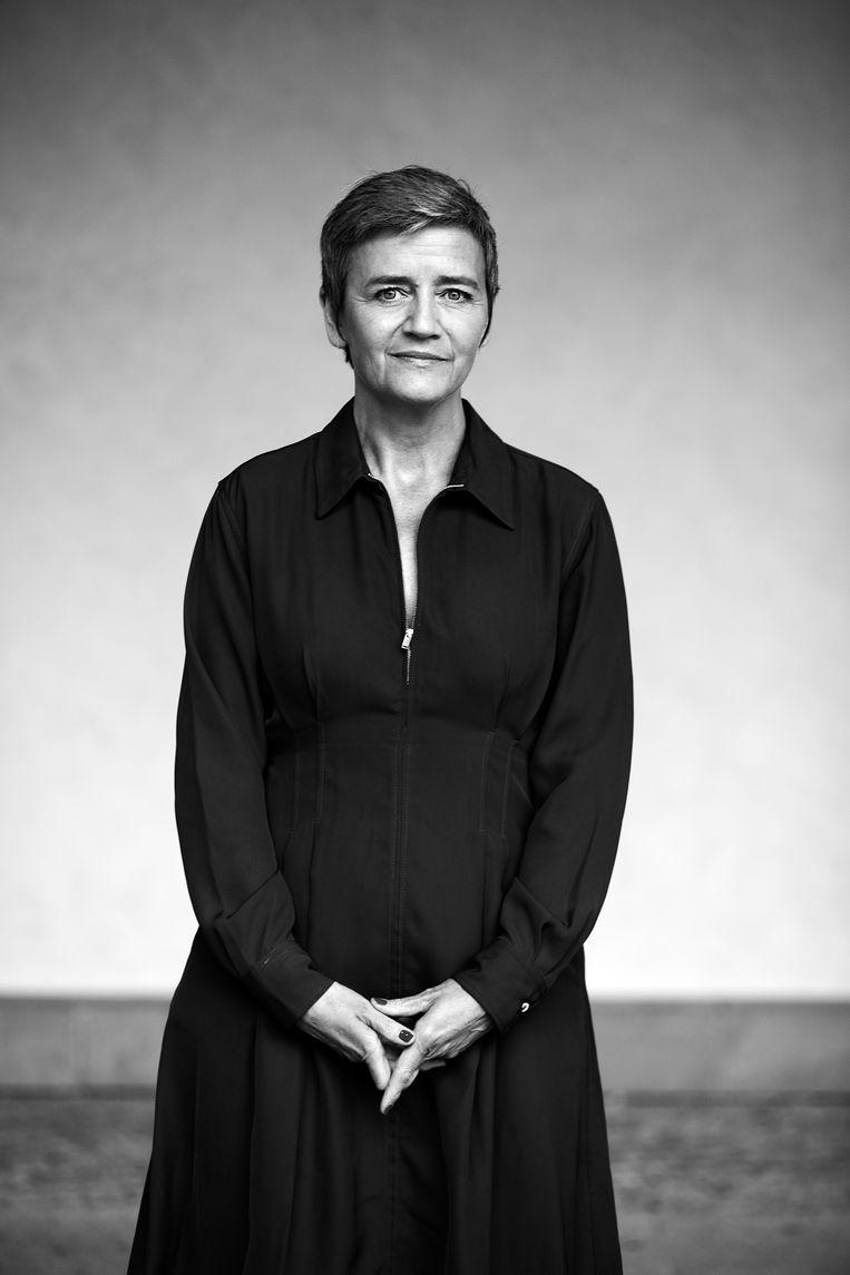 Gelijkheid zit in het DNA van de Denen, en al helemaal bij domineesdochter Margrethe Vestager.  Beeld Lenny oosterwijk