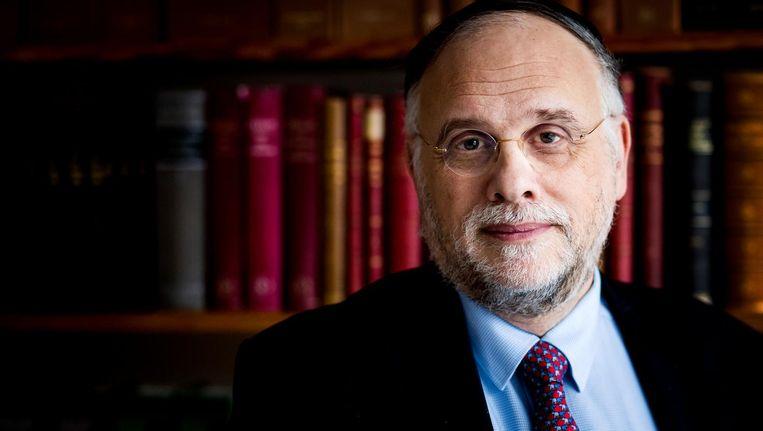Herman Loonstein, voorzitter van het FJN Beeld anp