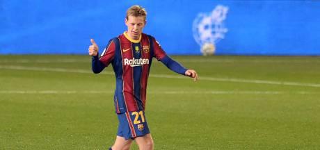 Spaanse media vol lof over 'hoofdrolspeler' Frenkie de Jong: 'Hij is nu beter dan bij Ajax'