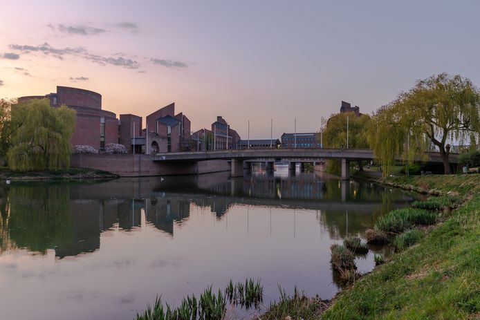 Het Limburgs provinciehuis in Maastricht.
