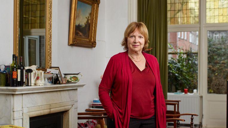 Marita Mathijsen: 'Maar nooit heeft Van Lennep zijn macht daarbij misbruikt, voor zover mij bekend.' Beeld Bianca Pilet