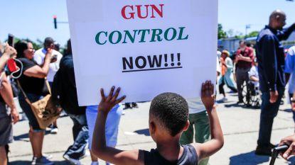 Duizenden mensen betogen in Chicago tegen vuurwapengeweld