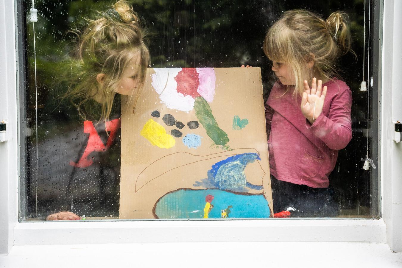 Kunst*Troost van Katie en Loulou in Oosterbeek.